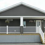 """Model 3 26'8"""" X 48' 1280 Sq. Ft. + 8' Full Porch Double Wide"""