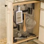 Utensil Rack cabinet