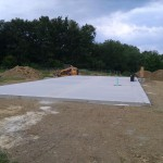 Concrete Slab for Manufacted Home